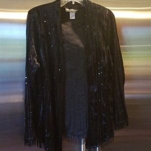 Ronnie nicole evening top size 1x